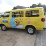 Ramon's taxi to other side of island