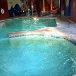 Activity pool (whirlpool) and attached pool