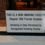 Unenforced Smoking Policy
