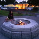 1000 Trails, LTR Campground fire pit.