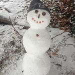 My daughter and I made this snowman