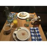 Juniper Hotel;  Blueberry Pancakes and Organic Oats