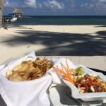 Ceviche on the Beach for Lunch - Delious!