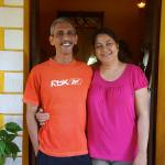 Ganesh and Beni -- charming hosts