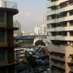 Although the hotel is located in a soi you still can have a room with a view..
