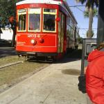 The Canal St streetcar