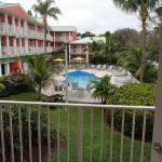 Key West Unit 261, view from balcony