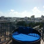 View from rooftop pool 3
