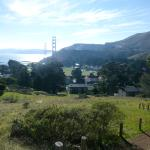 View from the hill behind Cavallo Point