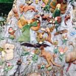 Australian animals, flowers and fairies on the fairy tree. Don't miss this if you are a child at