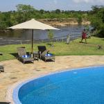 river view and pool
