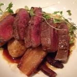 Locale Boileau Venison Steak with a Blueberry Glaze … Simply Divine!