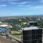 Melbourne city from 49th floor