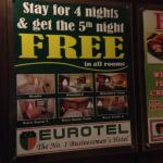 Make sure you don't get cheated out of your free night when booking, like I did!