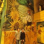 With Girasoles it wasn't just about business it was about people.  Here's me and Esteban on New