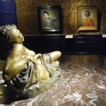 Sculpture and paintings