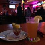 Oyster Shooter & a Microbrew!