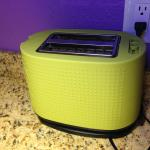 fun, colorful toaster