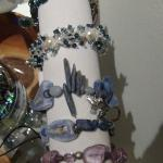 Jewelry of local artists for sale in the gift shop