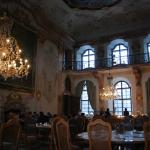The ballroom where breakfast is served