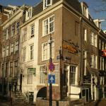 Hotel building at the corner of Herengracht and Thorbeckeplein