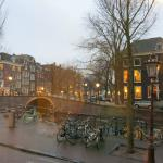 View on Herengracht and adjoining Reguliersgracht from Room No.10
