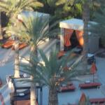 our cabana viewed from our room