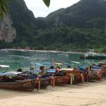 the beach at The Beach Resort in phiphi island
