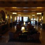 loved the period music in the cozy lobby