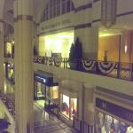 entrance to Ritz from tower city