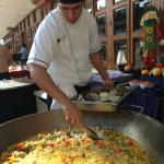 Cooking class - paella