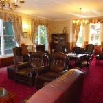 Elegant sitting room for guests to wile away a few hours at Berida Manor, Bowral
