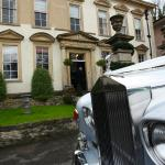Bowlish House front with Rolls Royce