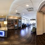 Panorama View of Entire Lobby & Front Desk