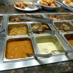 Many Buffet Items on Offer
