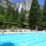Seasonal Heated Pool - Yosemite Falls in the background