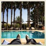 feet up at Casa Taos