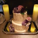 wedding cake from bakery onsite