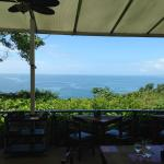 view while eating breakfast