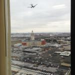 Spend hours watching planes land at LGA from the hotel