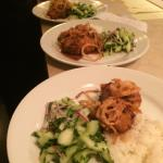 Jenny's Thai style Chilean sea bass. Our server told us 90% of the guests order this on sea bass