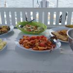 Lunch prepared onboard trip to Komodo Island
