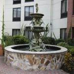 Outdoor patio fountain