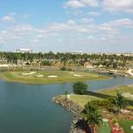 View of the lake and Blue Lagoon Golf Course