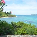 View of north end of Petit St. Vincent from cottage