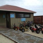 Hire pedal-power or spa pool