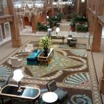 Lobby just reopened with new carpet! Jan 2015
