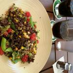 The quinoa salad