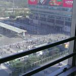 View from the room, overlooking Luohu Commercial City
