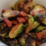 The best brussel sprouts with bacon at Nfuse!